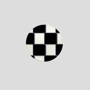 checkerboard Mini Button