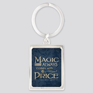 Magic Comes with a Price Portrait Keychain