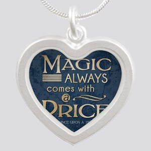 Magic Comes with a Price Silver Heart Necklace