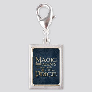 Magic Comes with a Price Silver Portrait Charm