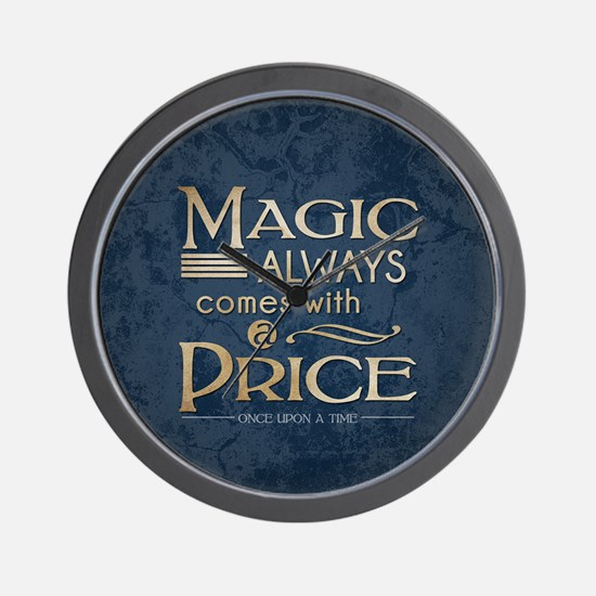 Magic Comes with a Price Wall Clock