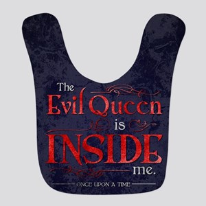 The Evil Queen is Inside Me Polyester Baby Bib