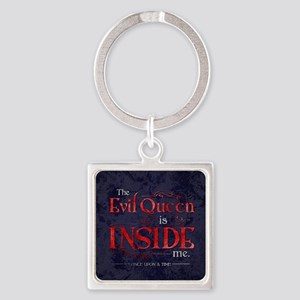 The Evil Queen is Inside Me Square Keychain