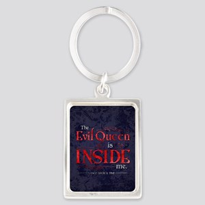 The Evil Queen is Inside Me Portrait Keychain