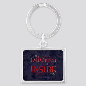 The Evil Queen is Inside Me Landscape Keychain