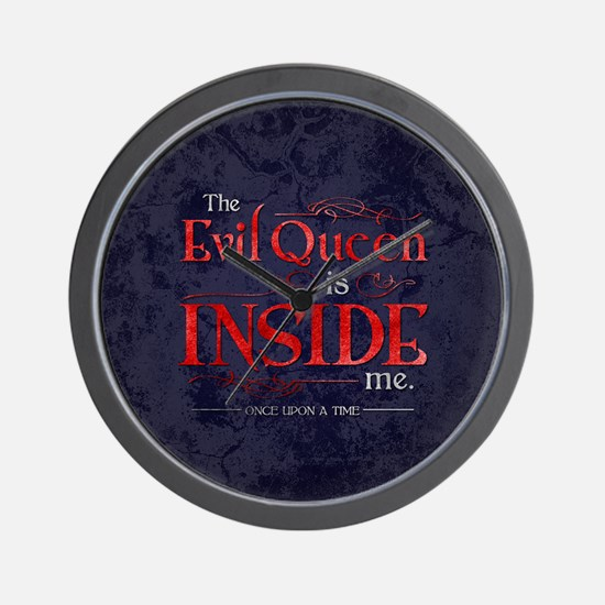 The Evil Queen is Inside Me Wall Clock