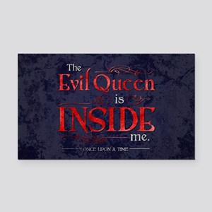 The Evil Queen is Inside Me Rectangle Car Magnet