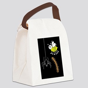 Funny Bugs Canvas Lunch Bag