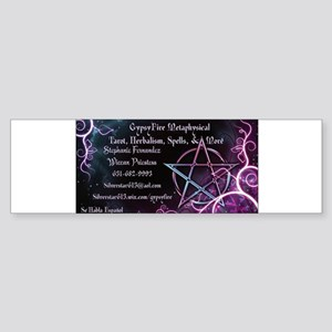 Gypsyfire Metaphysical Bumper Sticker
