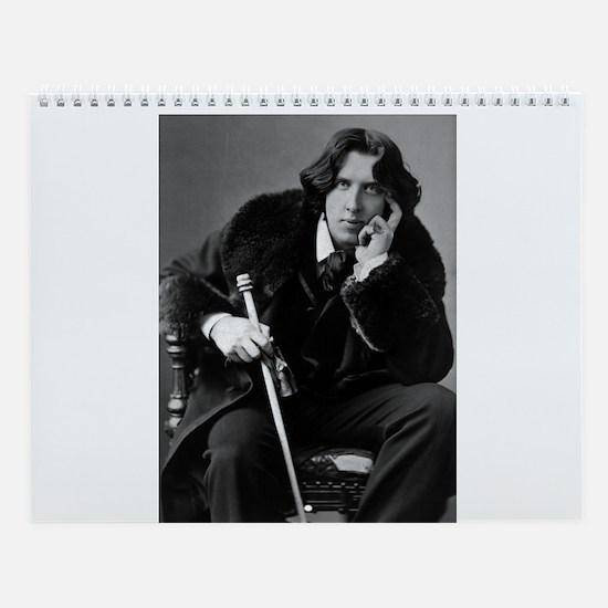 Famous Writers Wall Calendar