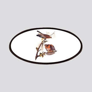 Red Shouldered Hawk Vintage Audubon Art Patch