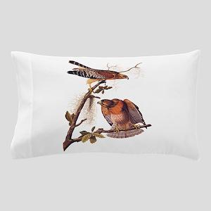 Red Shouldered Hawk Vintage Audubon Art Pillow Cas