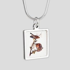 Red Shouldered Hawk Vintage Audubon Art Necklaces