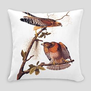 Red Shouldered Hawk Vintage Audubon Art Everyday P