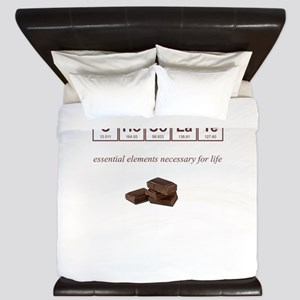 Chocolate King Duvet