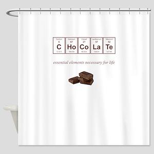 Hershey Chocolate Shower Curtains