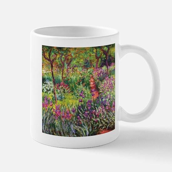 Iris Garden by Monet Mugs