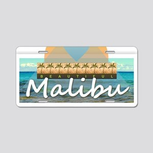 Malibu Aluminum License Plate