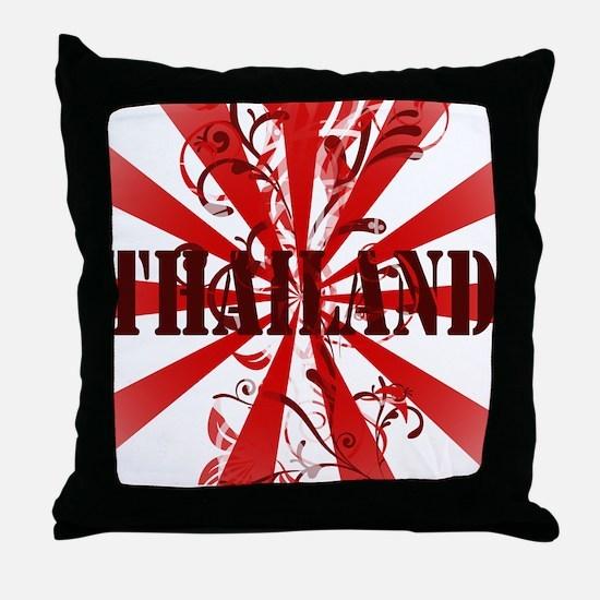 Cute Thailand Throw Pillow