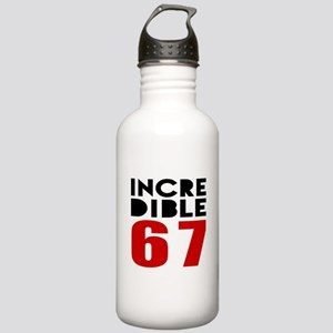 Incredible 67 Birthday Stainless Water Bottle 1.0L