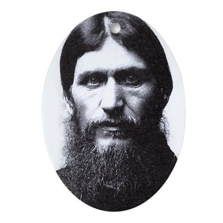 Rasputin Oval Ornament