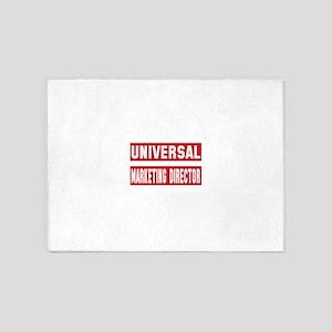 Universal Marketing Director 5'x7'Area Rug