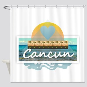 Cancun Shower Curtain