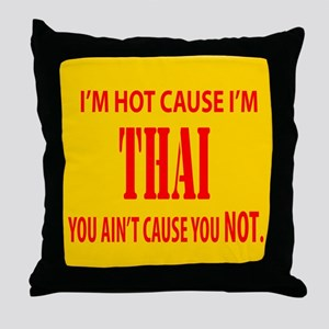 Hot Thai Throw Pillow