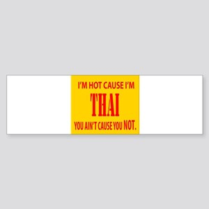 Hot Thai Bumper Sticker