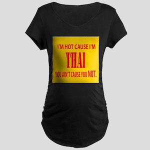 Hot Thai Maternity Dark T-Shirt