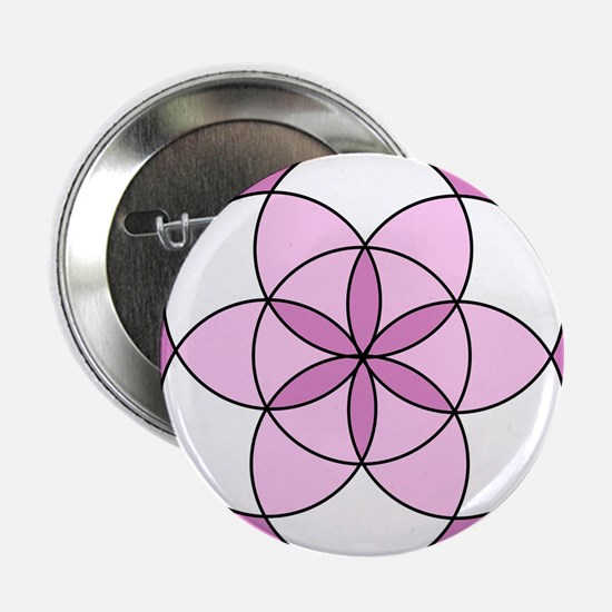 """Seed of Life Angel 05 2.25"""" Button (10 pack)"""