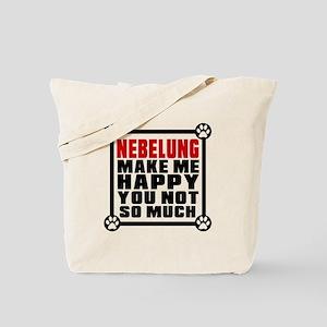 Nebelung Cat Make Me Happy Tote Bag
