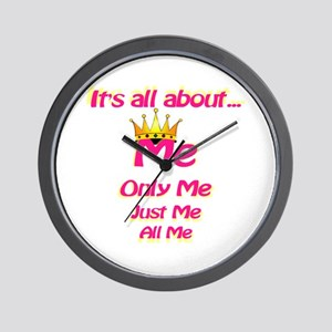 All about me Wall Clock