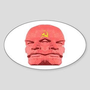 LENIN Sticker (Oval)
