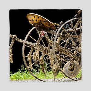 Farm Equipment Queen Duvet
