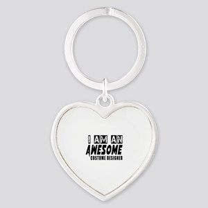 I Am Costume designer Heart Keychain