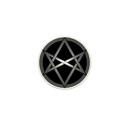 Unicursal Hexagram Mini Button (10 pack)