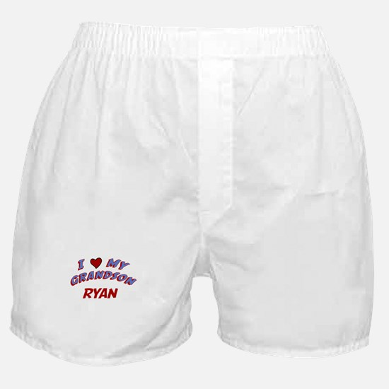 I Love My Grandson Ryan Boxer Shorts