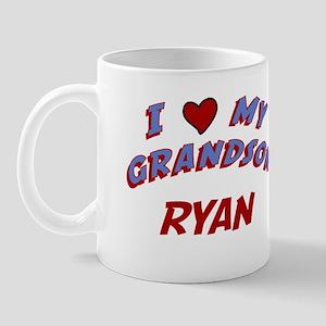 I Love My Grandson Ryan Mug