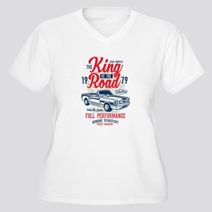 The King Of The Road Plus Size T-Shirt