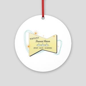 Instant Financial Advisor Ornament (Round)
