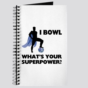 Bowling Superhero Journal