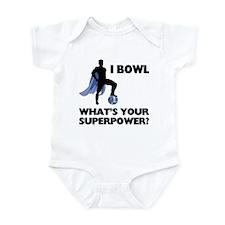 Bowling Superhero Infant Bodysuit
