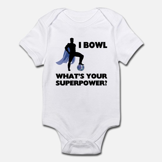 Bowling Superhero Infant Bodysuit