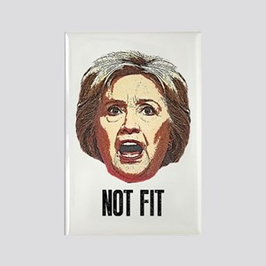 Hillary Clinton Is Not Fit Magnets