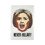 Never Hillary Clinton Magnets
