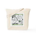 Three Linear Roses Tote Bag