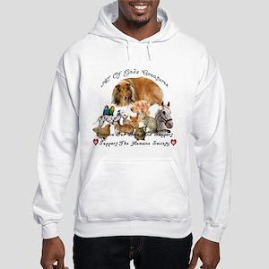 humane2bclock copy Sweatshirt