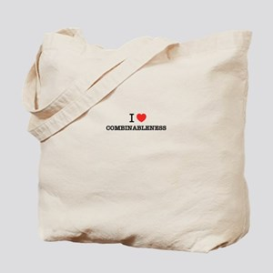 I Love COMBINABLENESS Tote Bag