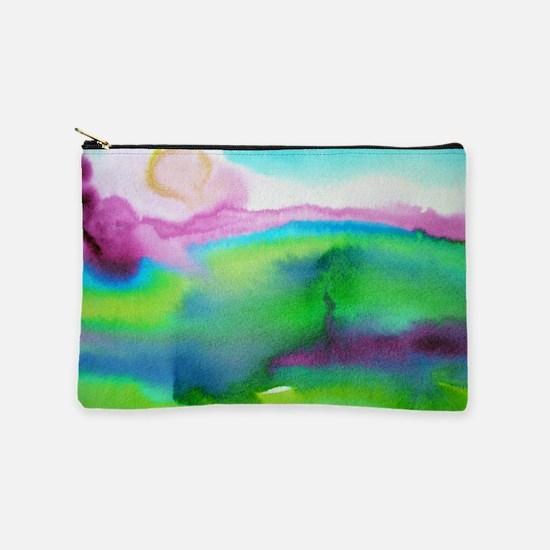 landscape, colorful art! Makeup Bag